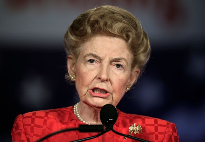 Phyllis Schlafly in 2007.
