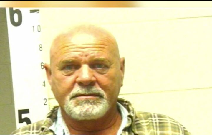 Edgar McLellan was arrested for allegedly bulldozing his neighbor's house.