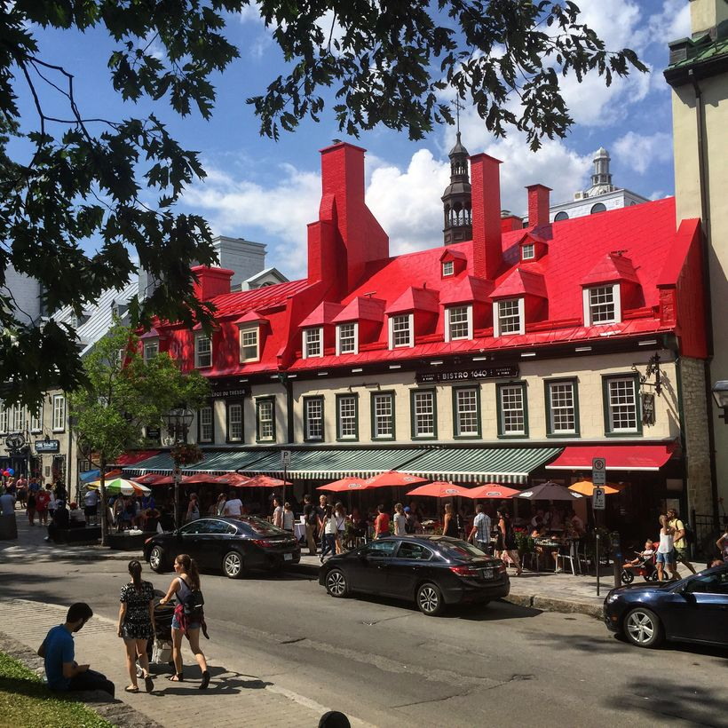 Pretty Rue Saint-Anne in Old Quebec