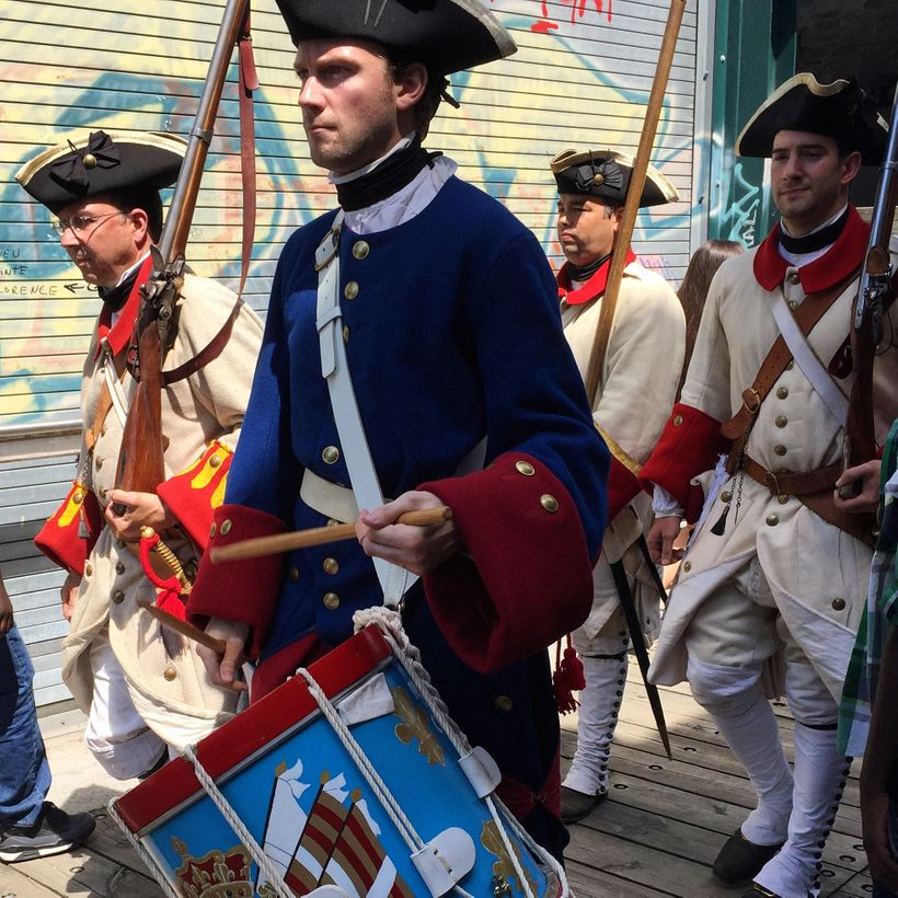 The Battle for Quebec is not quite over.  Plans for a re-enactment on the 250th anniversary were cancelled in 2009 due t