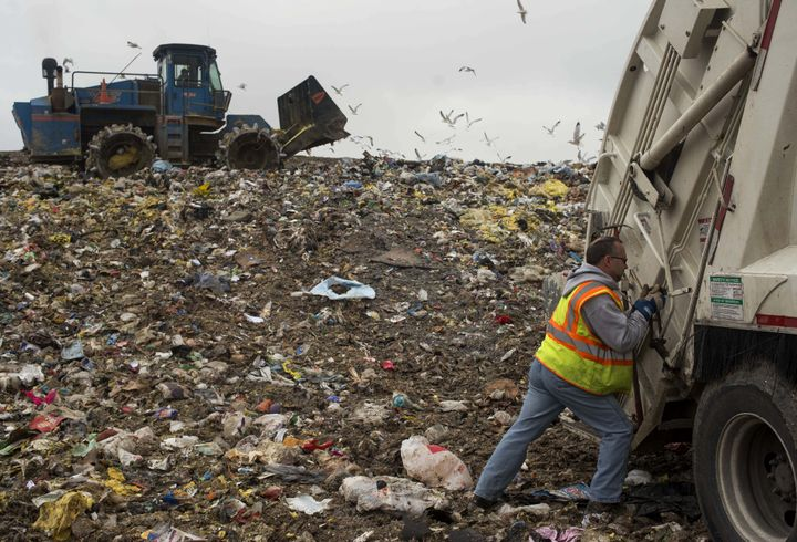 Discarded clothing contributes to landfill waste -- which emits methane, a greenhouse gas that's especially effective at