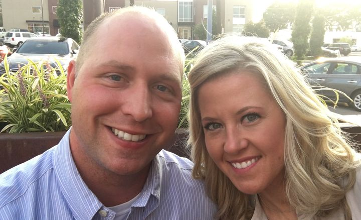 Kathy and Brandon Gunn have been married since Sept. 1, 2007.