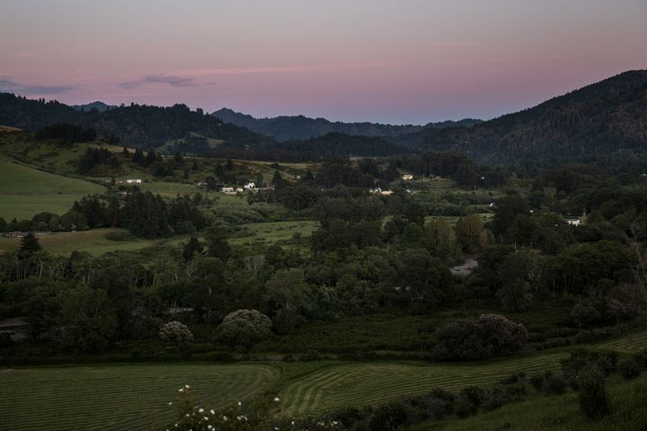 Nearly everyone in the tiny town of Petrolia, Calif., knows each other. Most are involved in marijuana growing to some degree