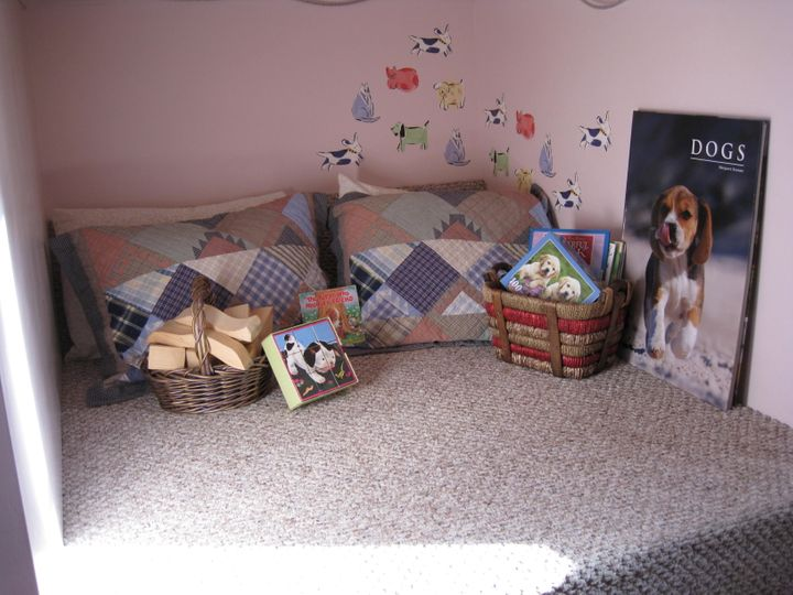 The room located in the dog's nose.