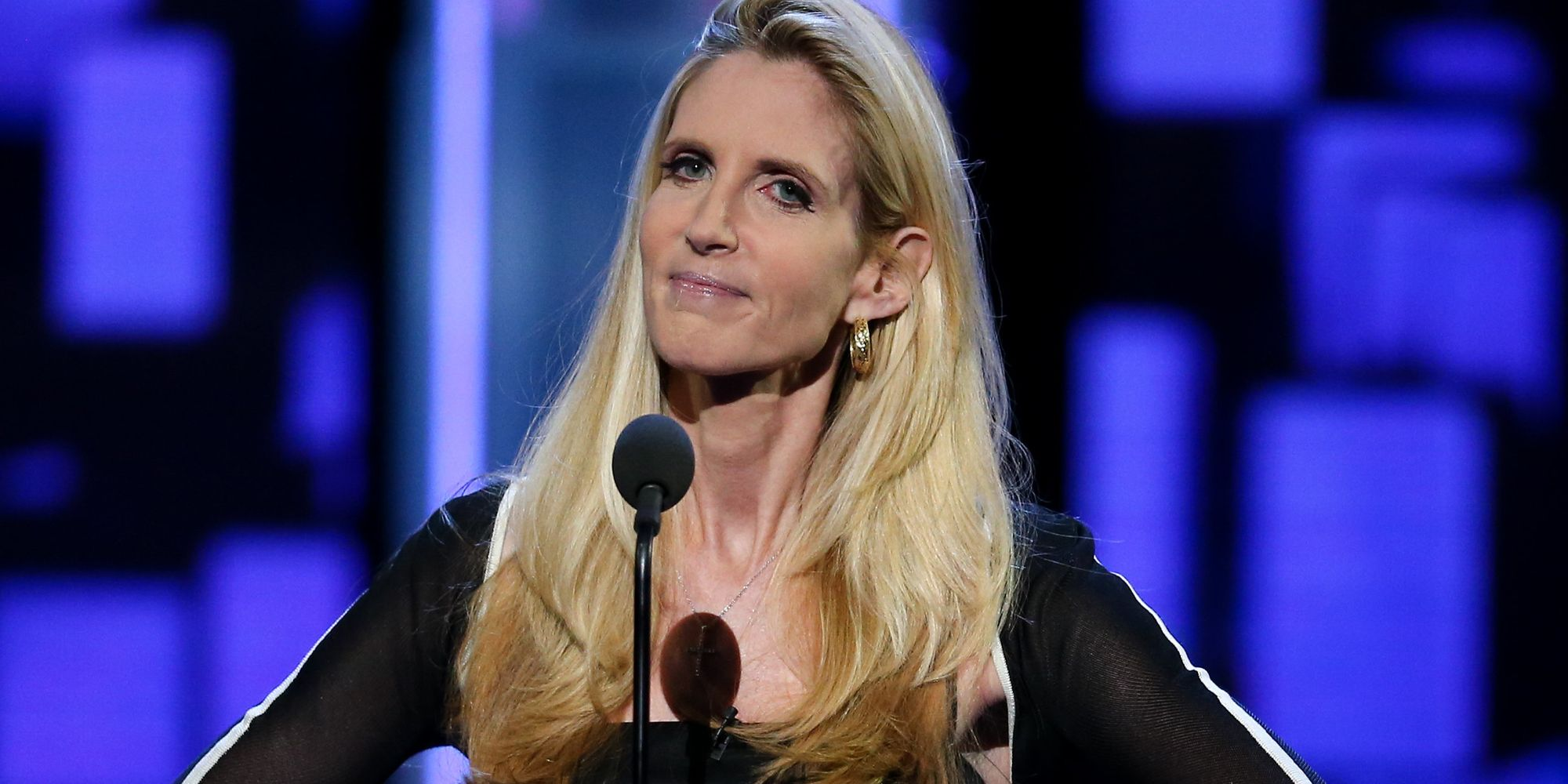 Ann Coulter Tries To Blame Comedy Central For Making Her Look Bad At Rob Lowe Roast