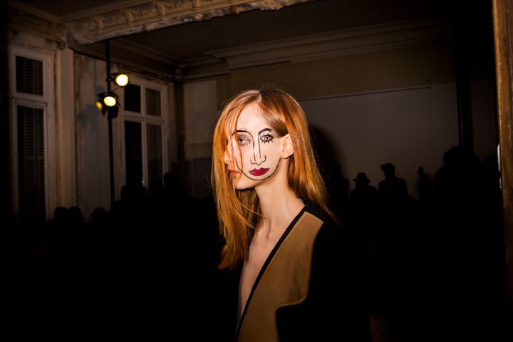 Scenes from theJacquemus show during Day 1 of Paris Fashion Week, Fall/Winter 2015, on Tuesday, March 3, 2014, in Paris, France.