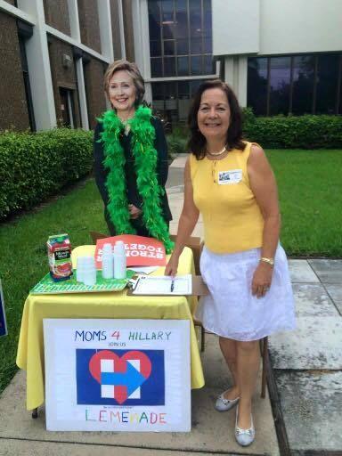 <i>A Florida mom sells lemonade to raise money and awareness for the Clinton campaign.</i>