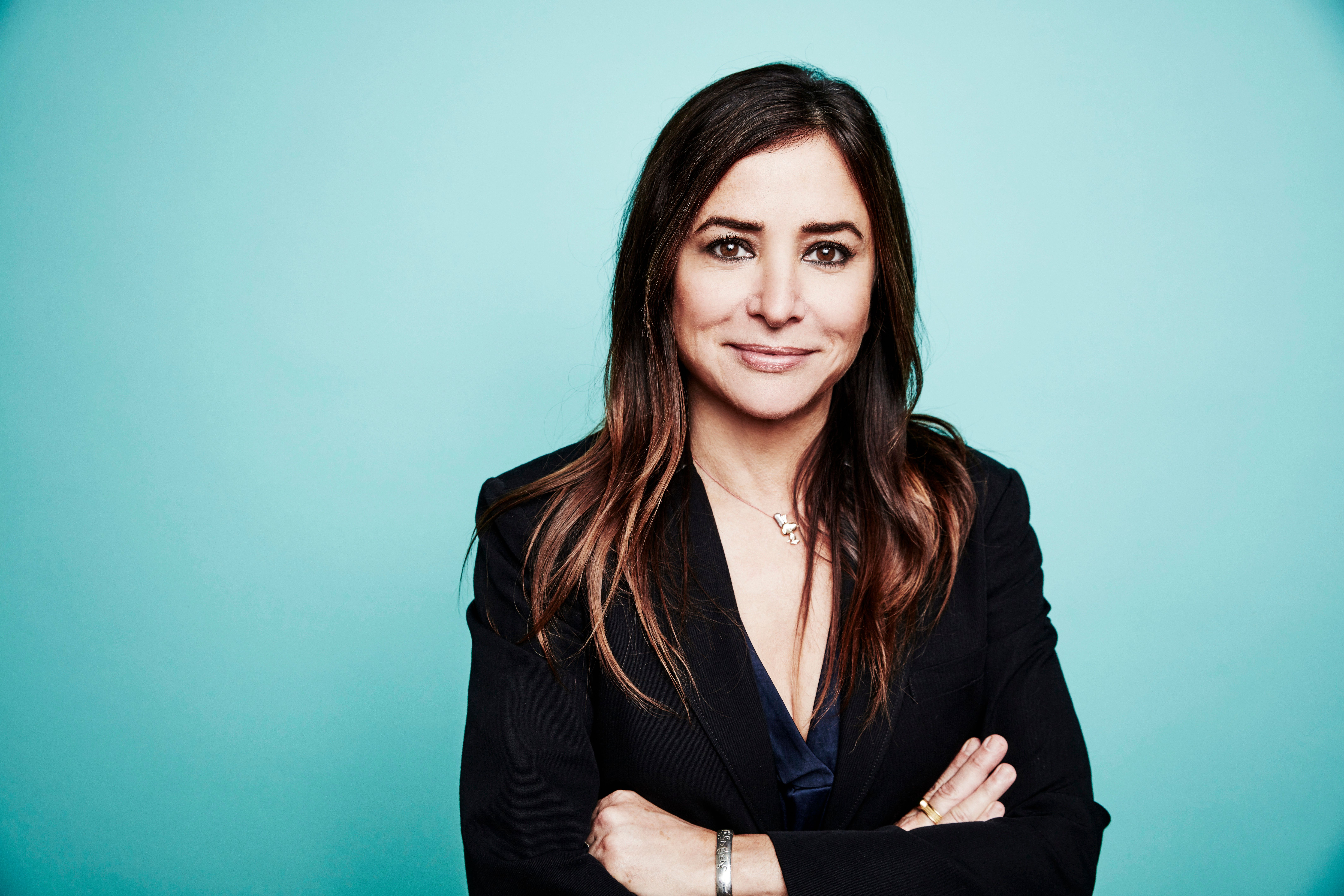 BEVERLY HILLS, CA - AUGUST 9: Pamela Adlon from FX's 'Better Things' poses for a portrait at the 2016 Summer TCAs Getty Images Portrait Studio at the Beverly Hilton Hotel on July 27th, 2016 in Beverly Hills, California (Photo by Maarten de Boer/Getty Images)