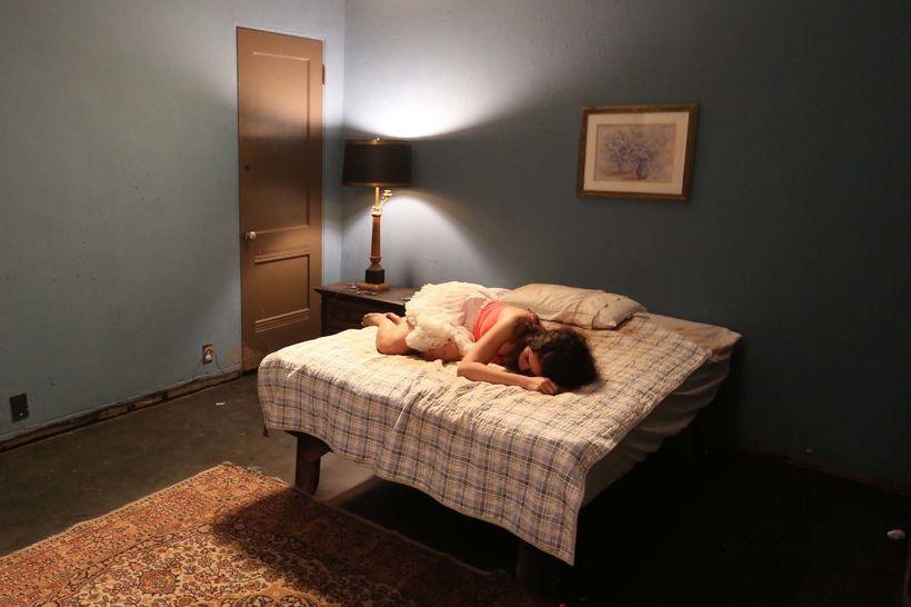 Marisol (Cristina Cibrian) devastated at her plight in Lost Girls.