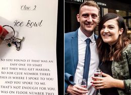 This Scavenger Hunt Proposal Was Inspired By 'P.S. I Love You'