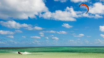 New Caledonia with its second world's largest coral reef is a paradise for water sports like surfing, kiting, diving, fishing, boating, etc ...