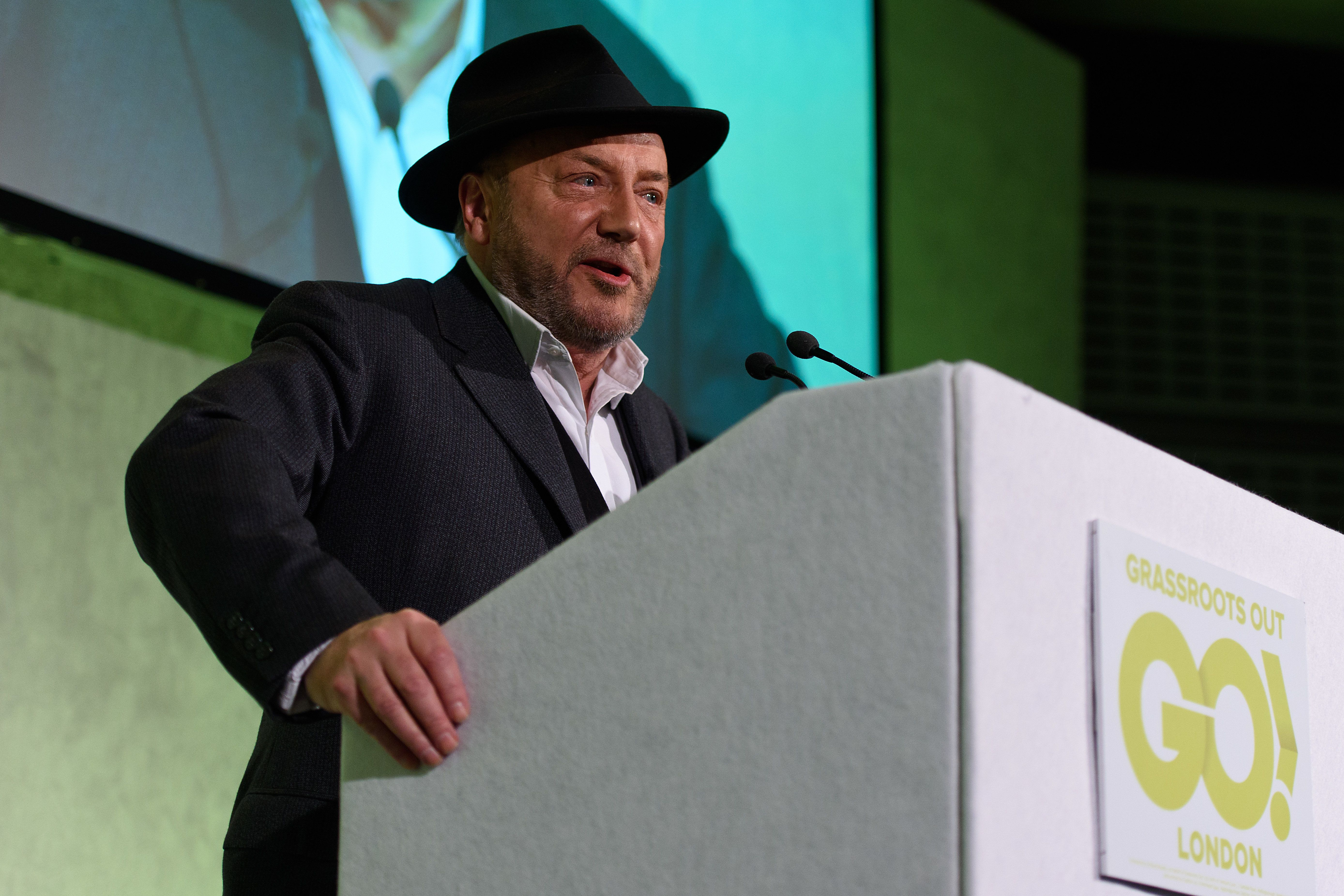 George Galloway Issues Sinister Threat If Corbyn Loses
