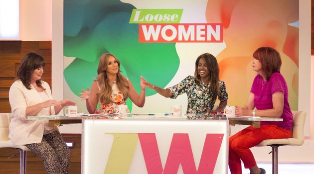 Vicky on the 'Loose Women'
