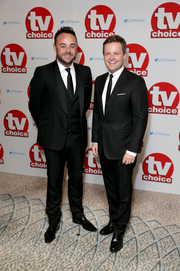 Ant and Dec are staying with