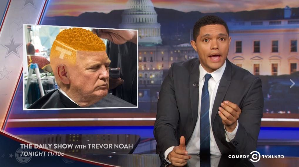 'The Daily Show' Has Seen Right Through Donald Trump's Attempt To Woo Black