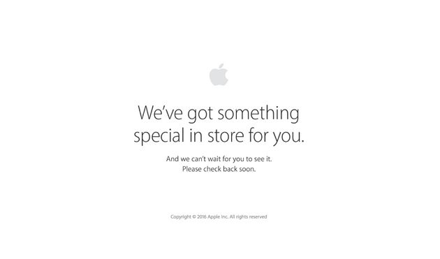 Apple's Online Store Is Down Which Can Only Mean One Thing: iPhone