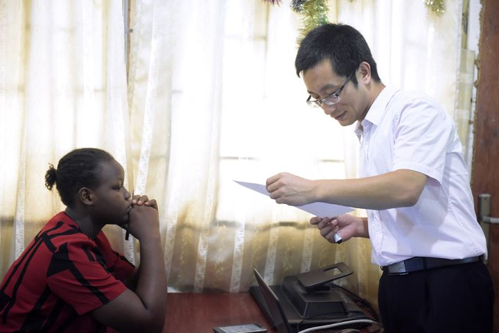 Some three dozen Nigerians are currently studying for language and culture degrees at Chinese universities while a second Con