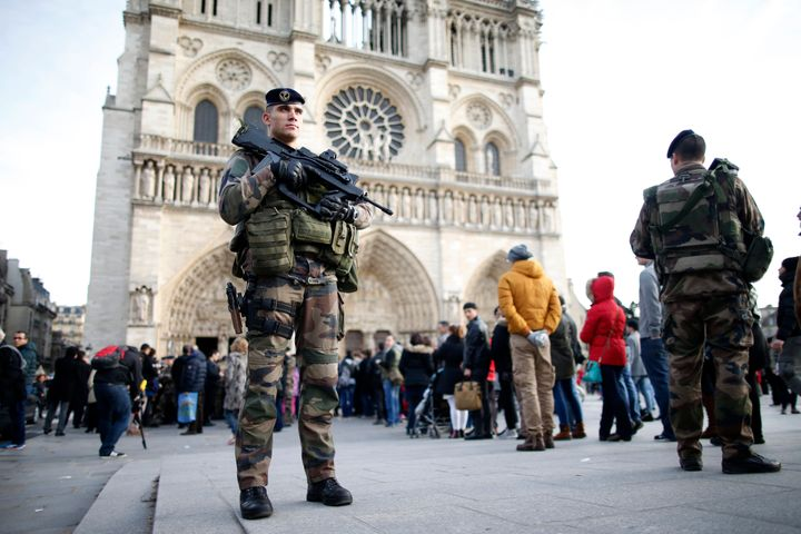 <br>The owner of a car parked near Notre Dame is on an intelligence services watchlist of people suspected of radicalization,