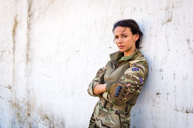 Michelle Keegan plays Corporal Georgie Lane in the new