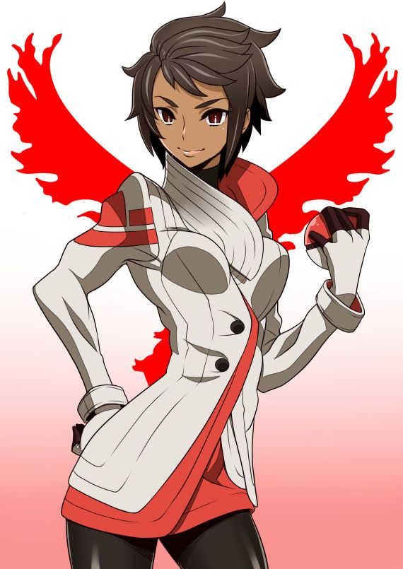 Candela - Team Valor's Pokemon Go Gym Leader
