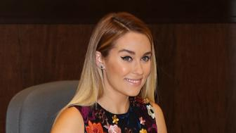 LOS ANGELES, CALIFORNIA - APRIL 03:  Reality TV Personality Lauren Conrad signs copies of her new book 'Celebrate' at Barnes & Noble at The Grove on April 3, 2016 in Los Angeles, California.  (Photo by Paul Archuleta/FilmMagic)