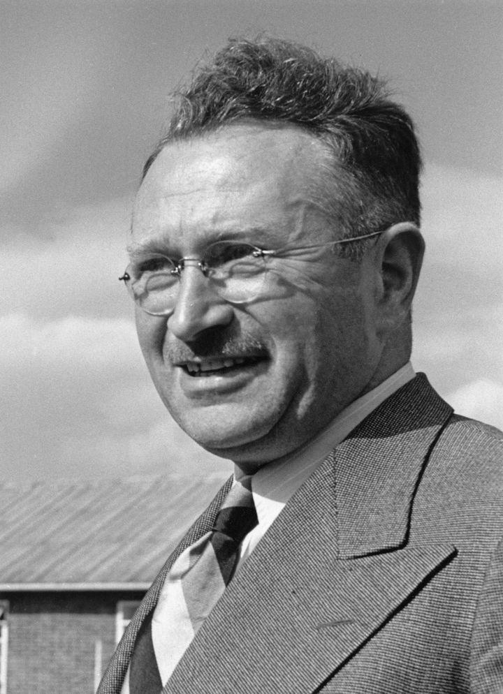 Ludwig Guttmann at the Stoke Mandeville Hospital in 1949.