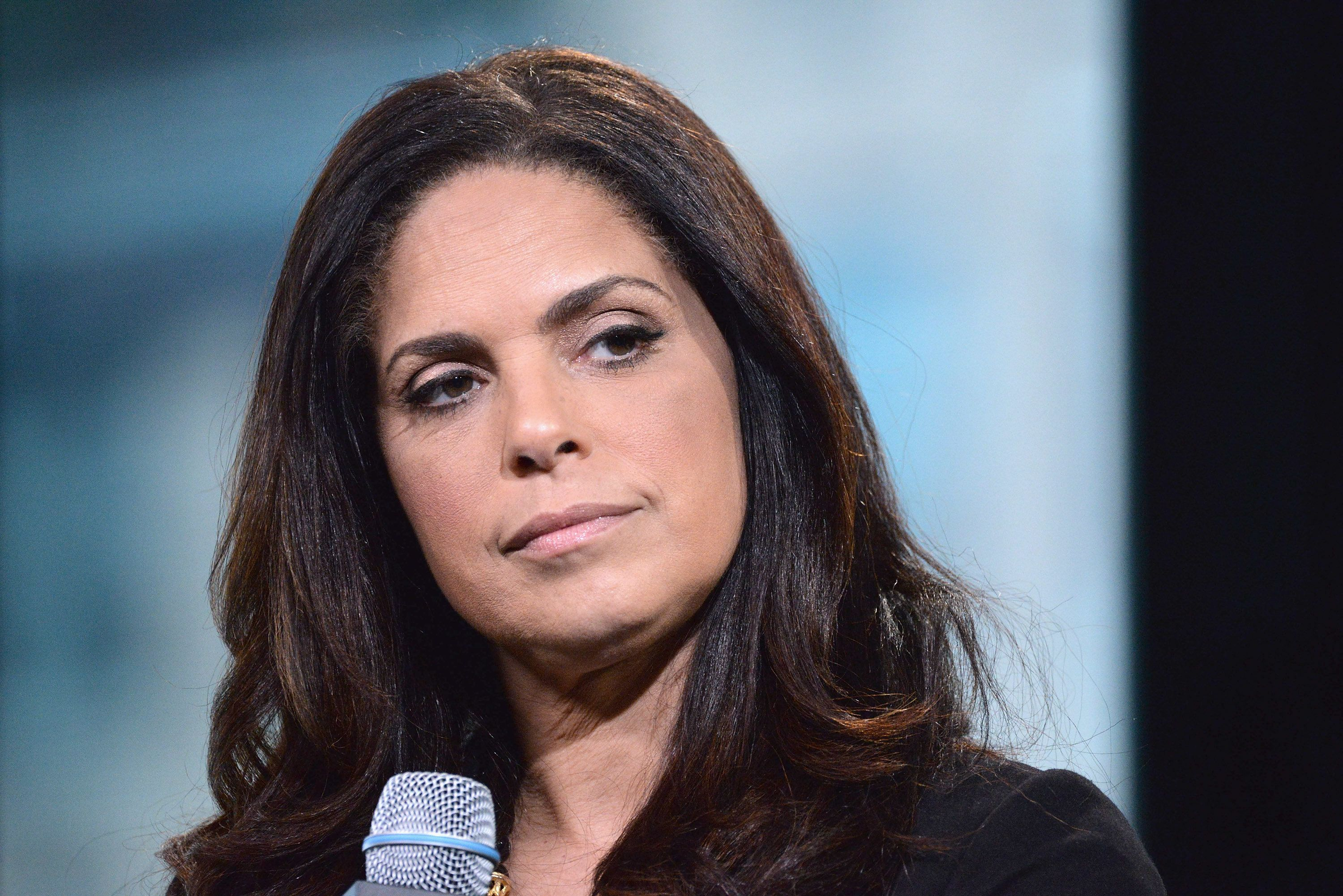 NEW YORK, NY - MAY 20:  Broadcast journalist and executive producer Soledad O'Brien discusses 'Soledad O'Brien Presents: The War Comes Home - The New Battlefront' during AOL BUILD presents Series at AOL Studios In New York on May 20, 2016 in New York City.  (Photo by Gary Gershoff/WireImage)