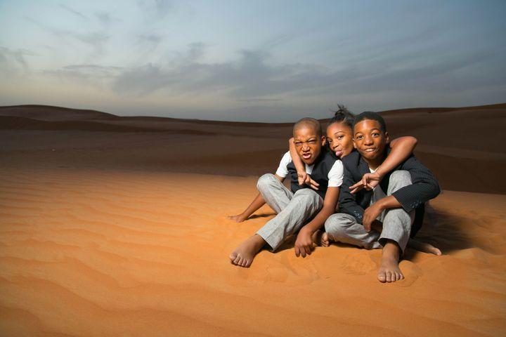 Cool Kid Crew in Abu Dhabi