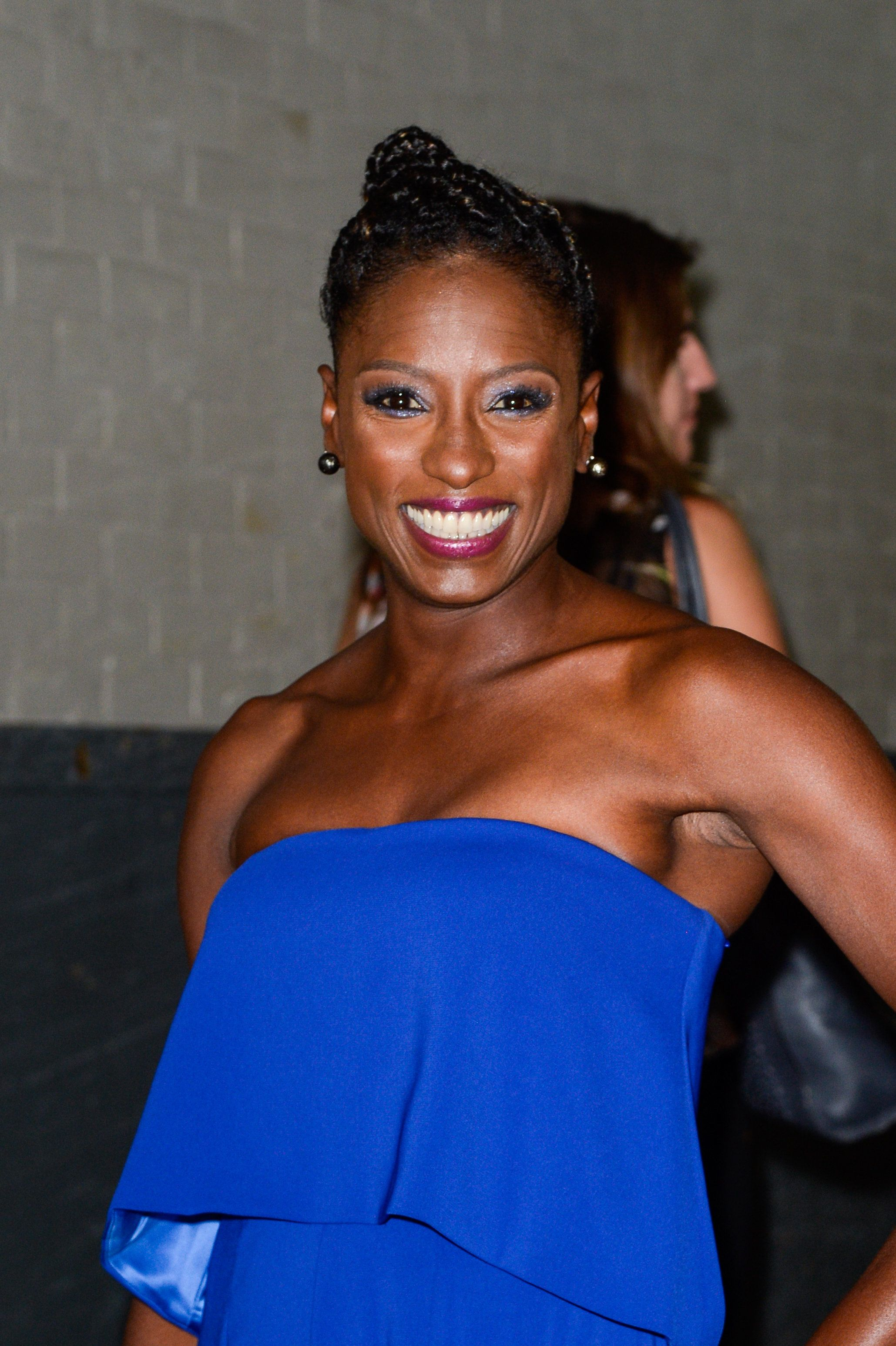 NEW YORK, NY - SEPTEMBER 06:  Actress Rutina Wesley enters the 'AOL Build' taping at the AOL Studios on September 06, 2016 in New York City.  (Photo by Ray Tamarra/GC Images)