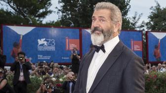 VENICE, ITALY - SEPTEMBER 4: Director Mel Gibson attends the photocall of the movie 'Hacksaw Ridge'  during 73rd Venice Film Festival at Venice Lido, Italy on September 4, 2016. (Photo by Primo Barol/Anadolu Agency/Getty Images)