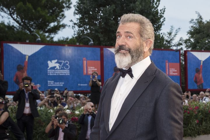 Director Mel Gibson at theVenice Film Festival on Sep. 4.