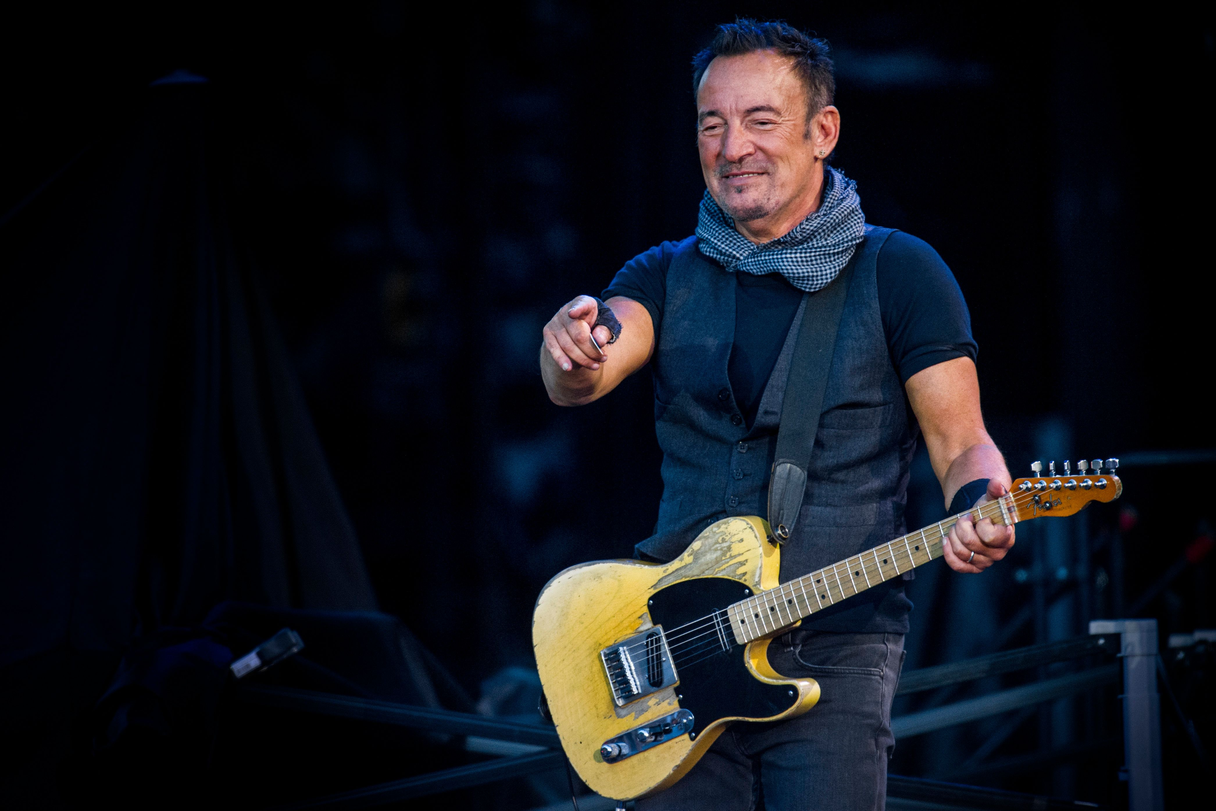Rock icon Bruce Springsteen explains how depression affected his