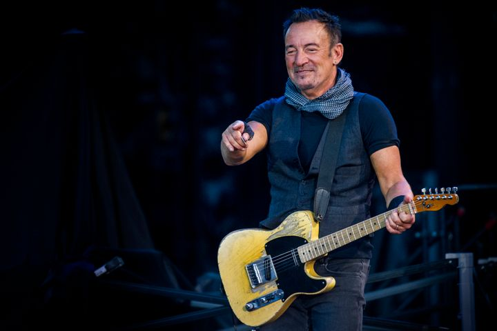 Rockicon Bruce Springsteen explains how depression affected his life.