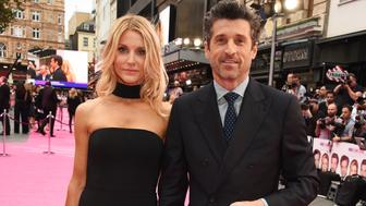 LONDON, ENGLAND - SEPTEMBER 05:  Jillian Dempsey (L) and Patrick Dempsey attend the World Premiere of  'Bridget Jones's Baby' at Odeon Leicester Square on September 5, 2016 in London, England.  (Photo by David M. Benett/Dave Benett/WireImage)