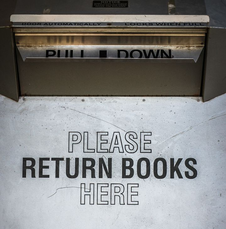 Libraries Can And Will Put You In Jail, So Return Your Books