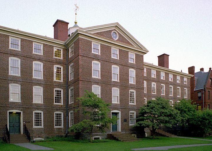 Brown University's University Hall.
