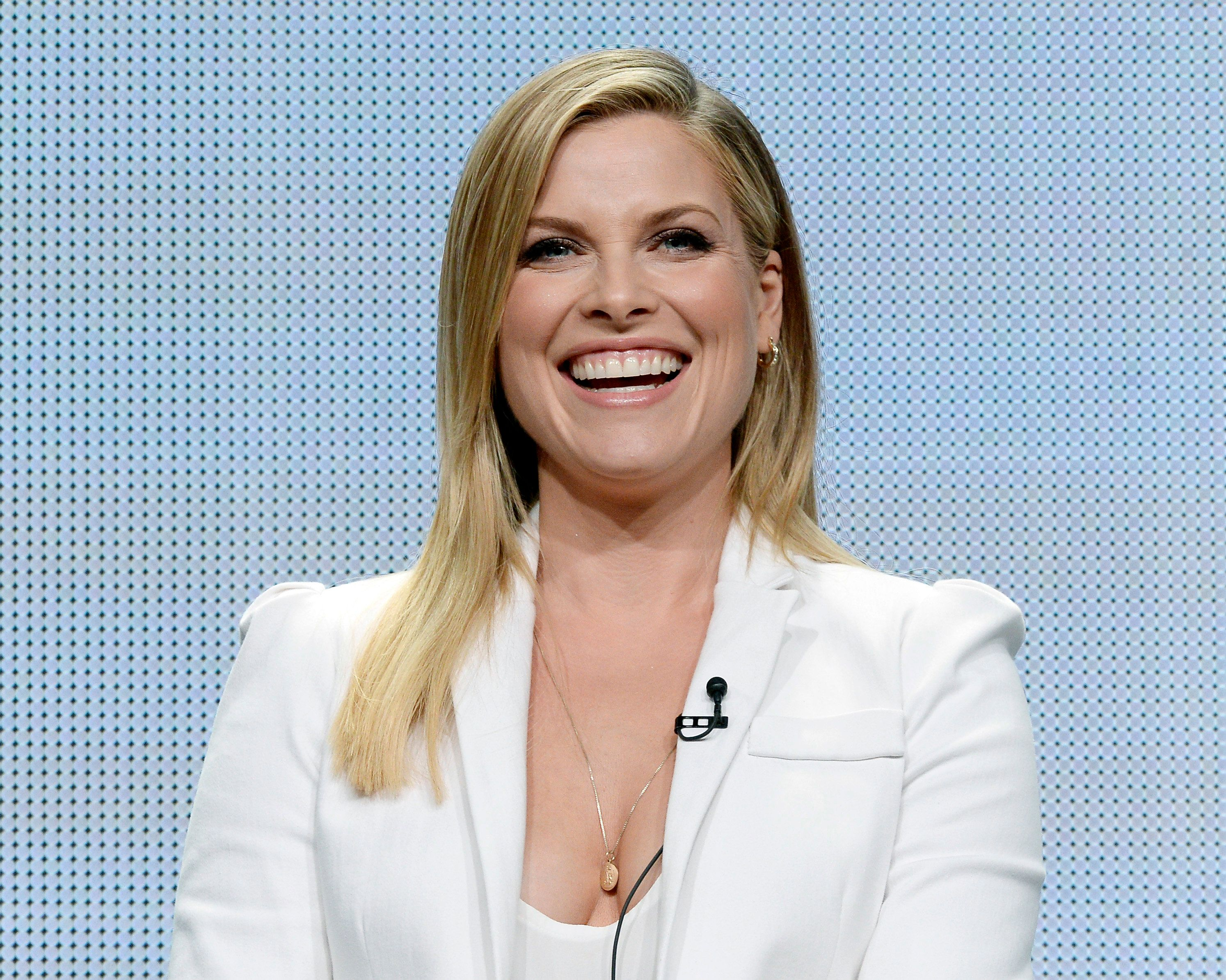 "Cast member Ali Larter from the new drama series ""Legends"" participates in a panel during Turner Networks portion of the 2014 Television Critics Association Cable Summer Press Tour in Beverly Hills, California July 10, 2014.  REUTERS/Kevork Djansezian   (UNITED STATES - Tags: ENTERTAINMENT MEDIA PROFILE)"