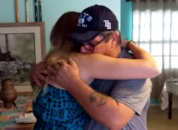 Girl Surprises Stepdad With Adoption Papers On His Birthday
