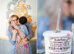 Couple Takes Engagement Pics At Chipotle Because Love Is Burrito-ful