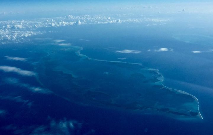 Reefs off the coast of Belize
