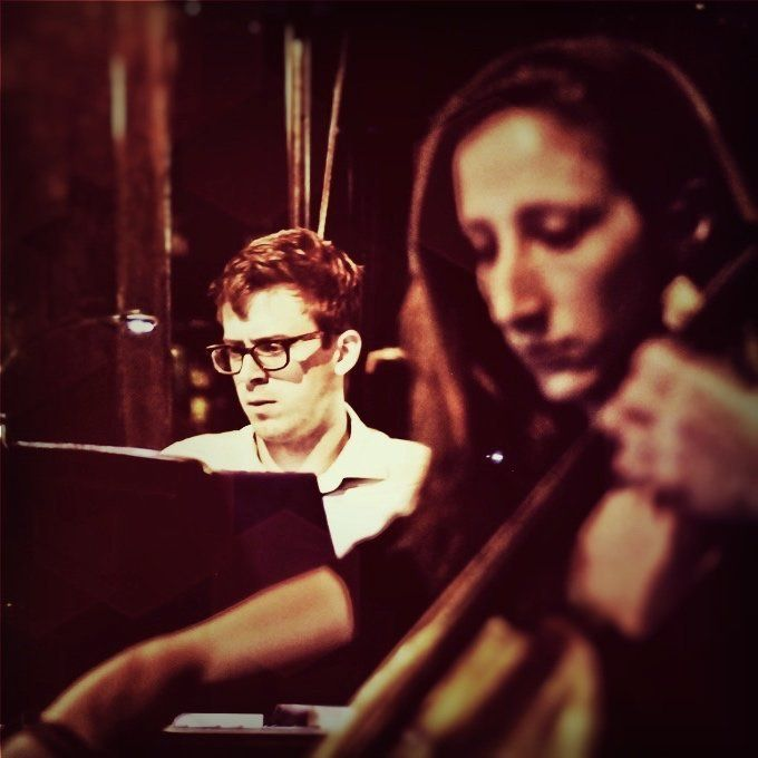 Composer Will Van Dyke (left) and cellist Allison Seidner will perform Sept. 12 at The Duplex in New York.