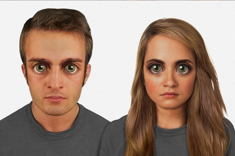 """Google image search """"future humans,"""" and these folks pop up. They can see right through your future clothes. They notice&nbsp"""