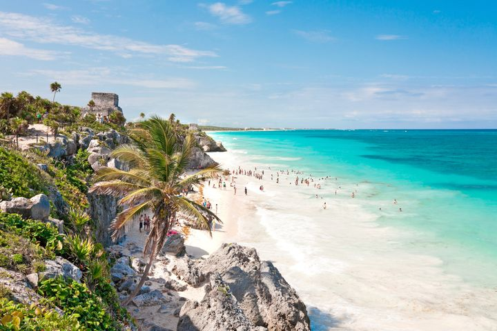 Tulum is one of Mexico's most stylish beach destinations and a great way to escape your January blues.