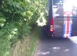 Team Sky Apologises After Cyclist Films 'Dangerous' Incident With Support Bus