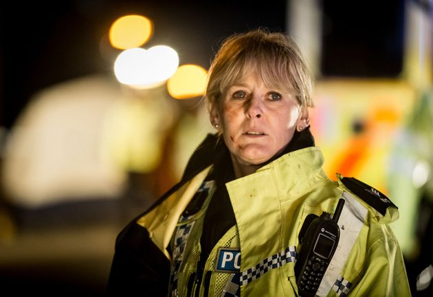 Sarah Lancashire as Sergeant Catherine Cawood in 'Happy