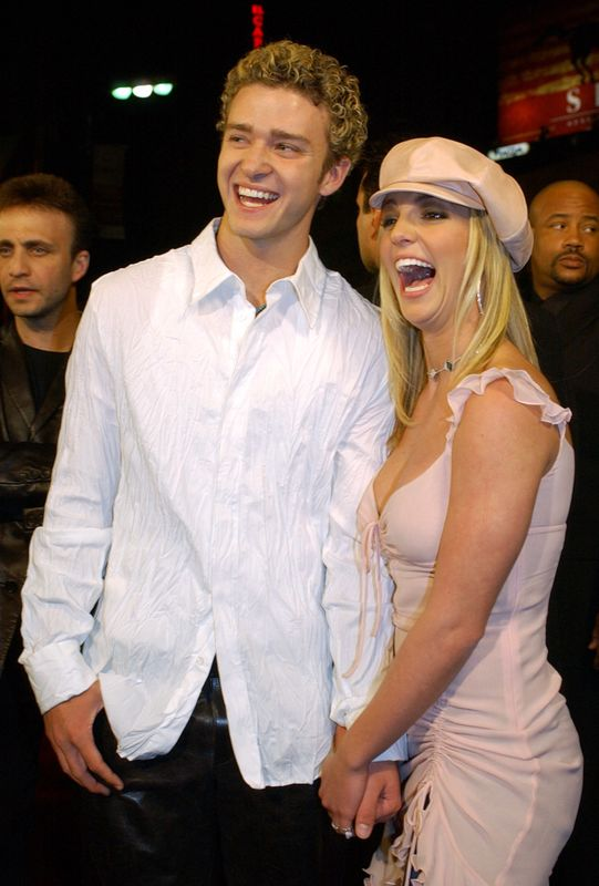 They were truly love's young dream in the early 2000s, but things quickly turned sour and they broke hearts all over the world when they announced they'd split.He later addressed the break-up in his track 'Cry Me A River', and has repeatedly made digs at her over the past decade.