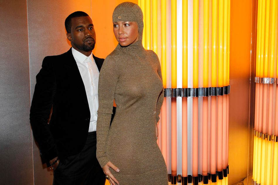 """Kanye and Amber split in 2010, but it was years later that he took a swipe at her in the press, suggesting new wife Kim Kardashian had made him take """"30 showers"""" before they got together, because of their relationship.Amber then caused ripples on social media with #FingersInTheBooty-gate, with Kanye later using Amber as one of 12 celebs in his shocking 'Famous' music video."""