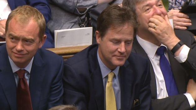 Ex-Lib Dem leader Nick Clegg said the figures 'showed how ill-prepared Whitehall