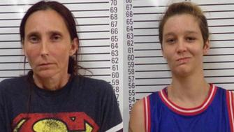 Patricia Ann Clayton Spann 43 and Misty Spann 25 are facing incest charges following their March wedding