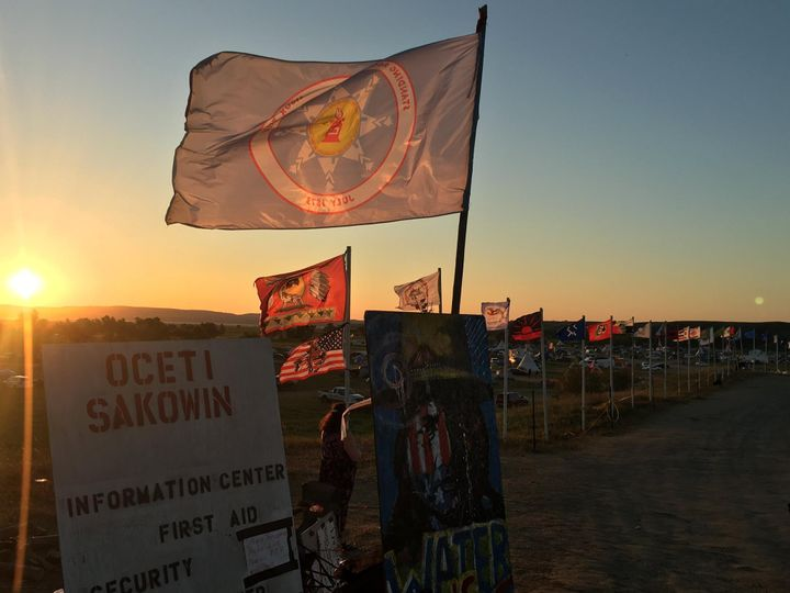 Dawn at Standing Rock
